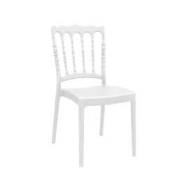 wynajem krzesel krzesla biale weselne napoleon white 1