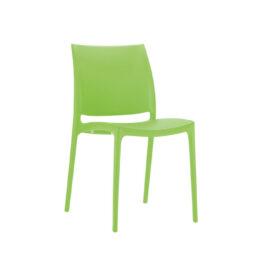 wynajem krzesel zielone krzesla maya green 1