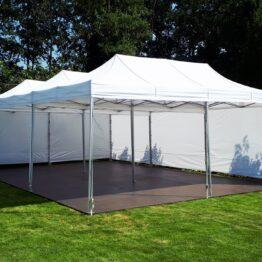 namiot bankietowy bialy v3 3x6 z podloga wynajem warszawa