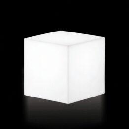wynajem puf pufa kostka podswietlana geo cubo73