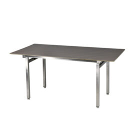 wynajem stolow wypozyczalnia stol brook wenge 160 inox