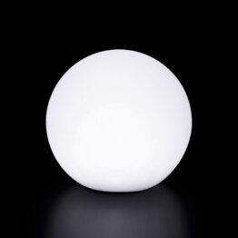 wynajem mebli podwietlanych kola podswietlana sphere40