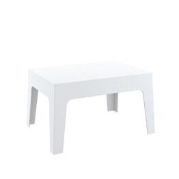 bialy stolik BOX White wypozyczalnia mebli Amadeo