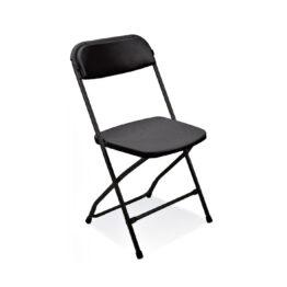 krzeslo skladane Polyfold black wypozyczalnia krzesel