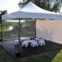 namiot v2 5x5 przezroczysty wynajem warszawa