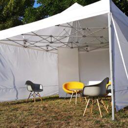 namioty eventowe wystawowe 4x4 wynajem warszawa