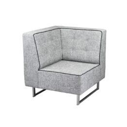 sofa pure corner tapicerowana szara modulowa wynajem 111