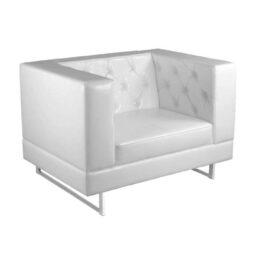wynajem foteli fotel bialy pearl white 1