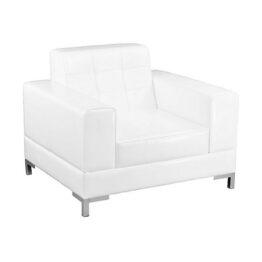 wynajem foteli fotel bialy venna white 1