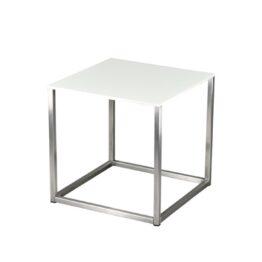 wynajem stolikow stolik niski code 45 inox white amadeo
